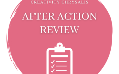 After Action Review: Take time after your project to learn and reflect individually and as a team.